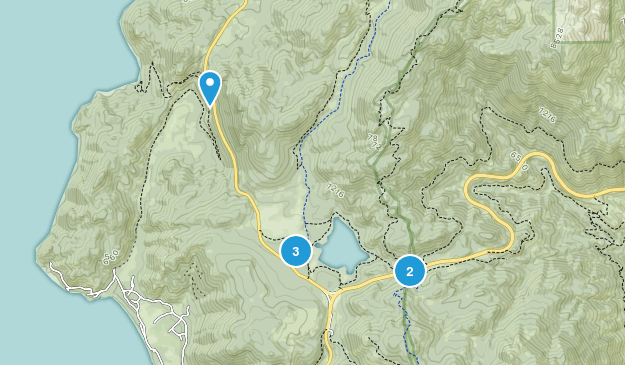 Zone de gestion du lac Spooner Mountain Biking Map