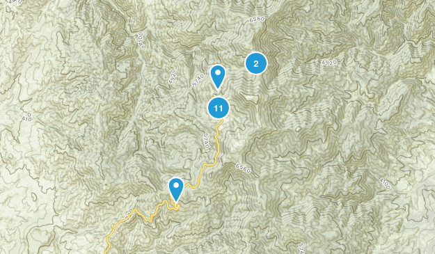 Bogus Basin State Park Nature Trips Map