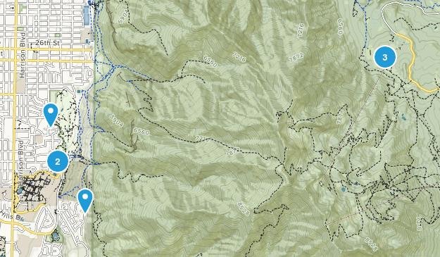 Mount Ogden Park Birding Map