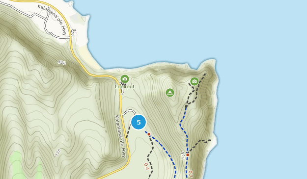 Makapu'u Point State Wayside Nature Trips Map