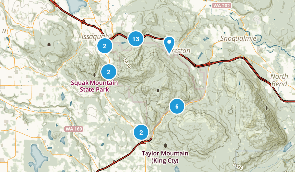 Best Hiking Trails In Tiger Mountain State Forest Photos - Us hiking trails map