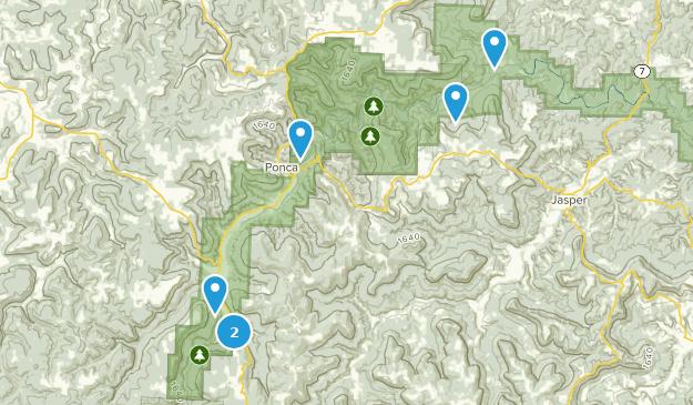 Buffalo National River Wilderness Bird Watching Map