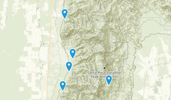 Best Hiking Trails in Santa RosaParadise Peak Wilderness 46