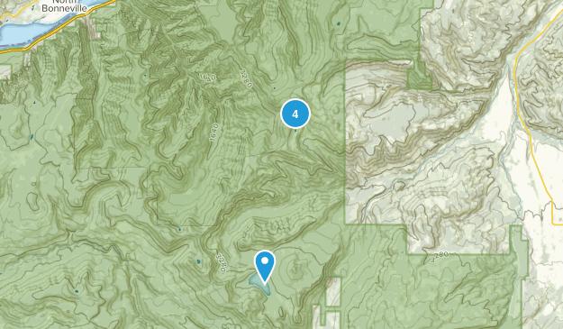 Mark O. Hatfield Wilderness Hiking Map