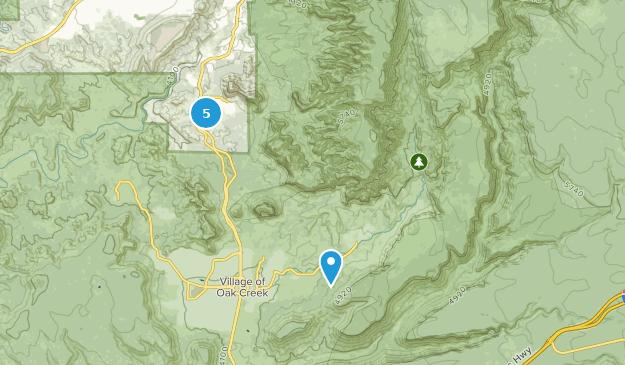 Munds Mountain Wilderness Mountain Biking Map