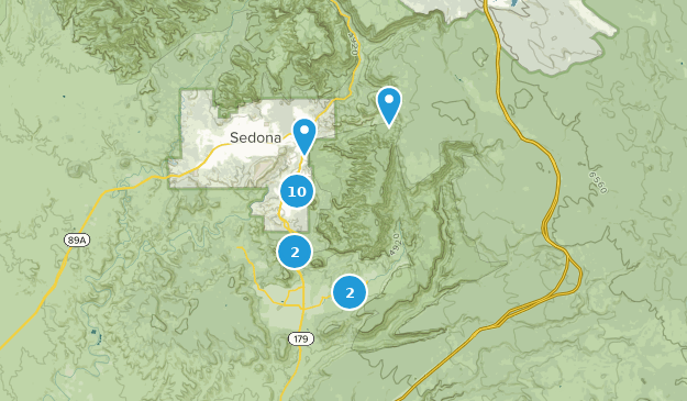 Munds Mountain Wilderness Nature Trips Map