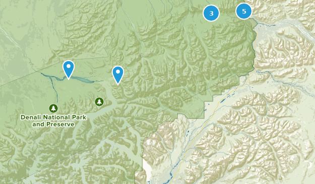 Best Kid Friendly Trails in Denali National Park | AllTrails Denali National Park Map on