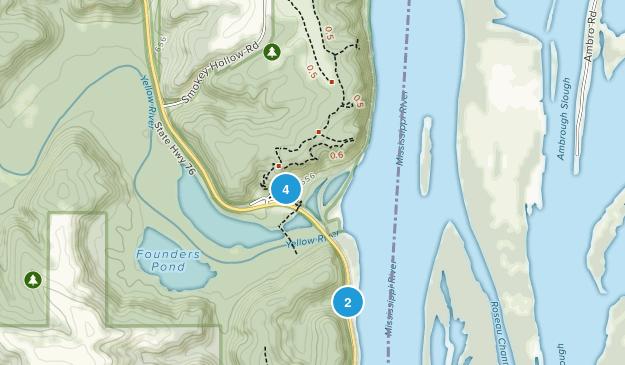 Effigy Mounds National Monument Hiking Map