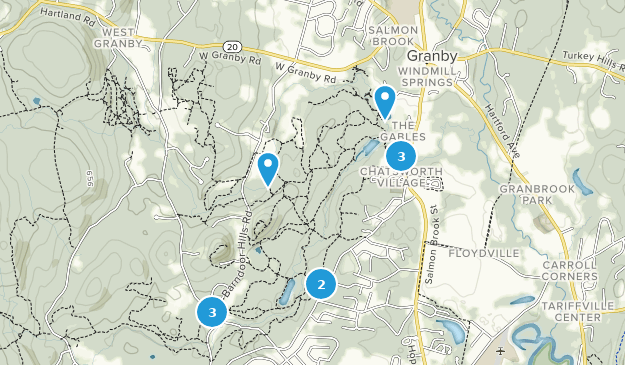 McLean Game Refuge Nature Trips Map