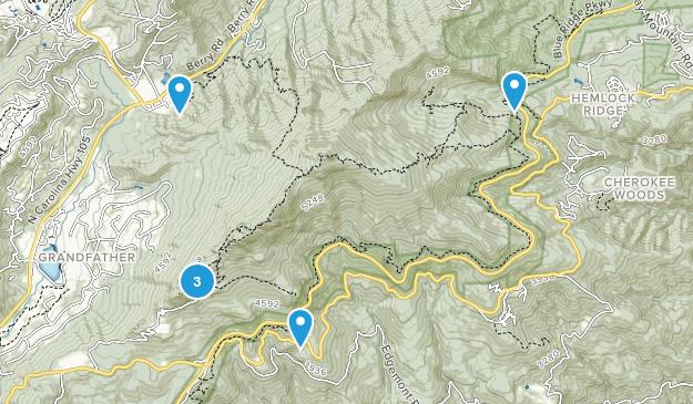 Grandfather Mountain State Park Birding Map