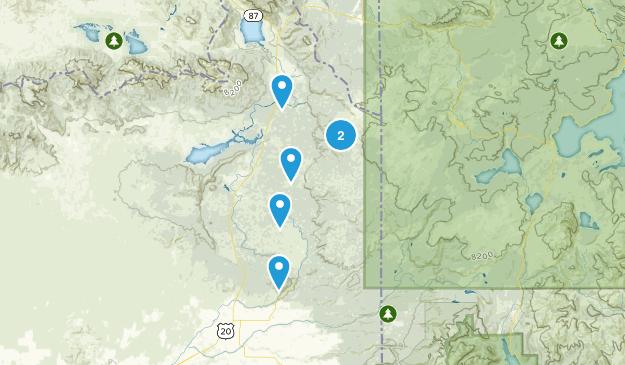 Island Park / Yellowstone Hiking Map