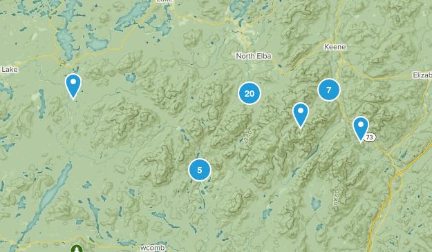 High Peaks Wilderness Views Map