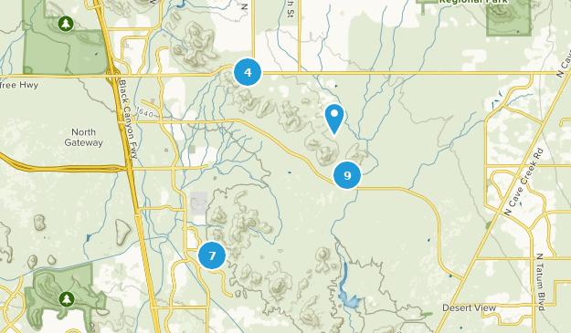 Best Hiking Trails in Phoenix Sonoran Desert Preserve | AllTrails on