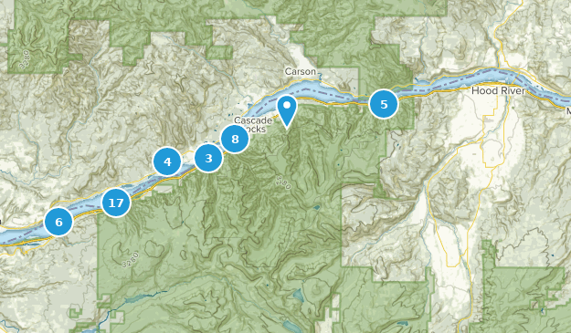 Best Waterfall Trails in Columbia River Gorge National Scenic Area on