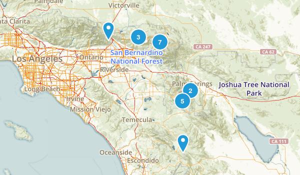San Bernardino National Forest Horseback Riding Map