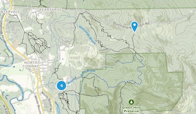 Green Hills Preserve Nature Trips Map
