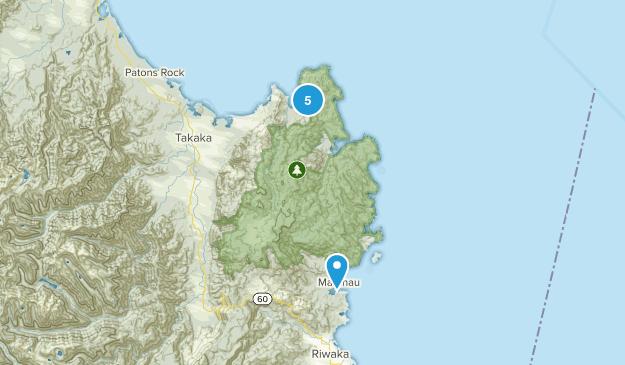 Abel Tasman National Park Hiking Map