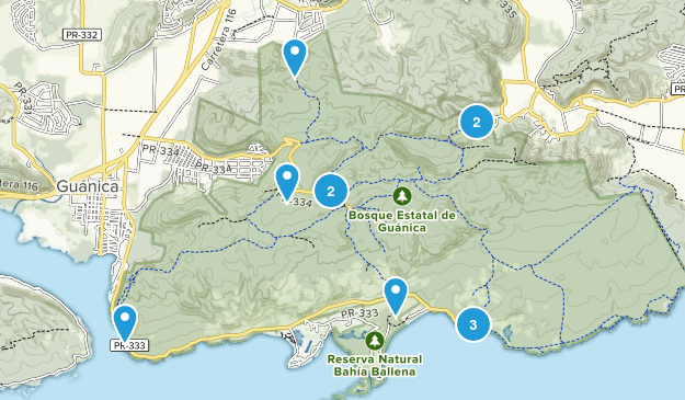 Bosque Estatal De Guanica Nature Trips Map