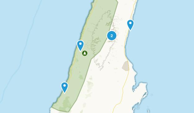 Cape Range National Park Hiking Map
