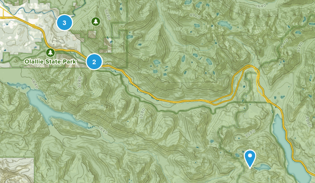Middle Fork Snoqualmie Natural Resources Conservation Area Nature Trips Map