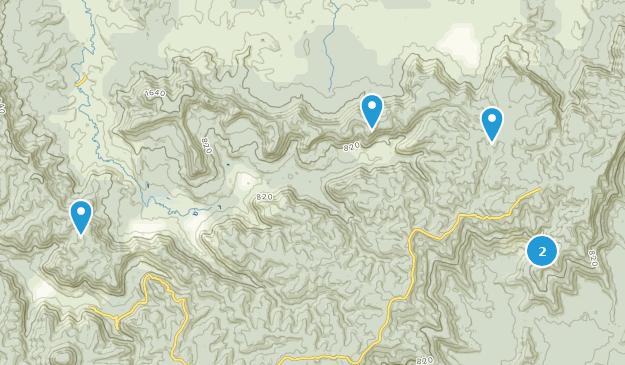 Watagans National Park Hiking Map
