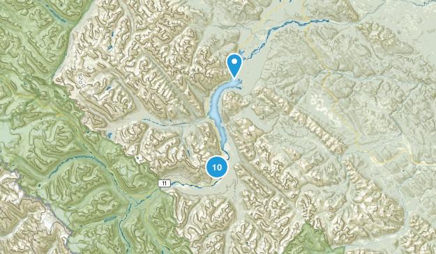 Kootenay Plains Ecological Reserve Hiking Map