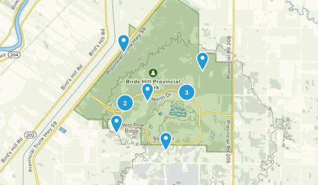 Bird Hill Provincial Park Birding Map