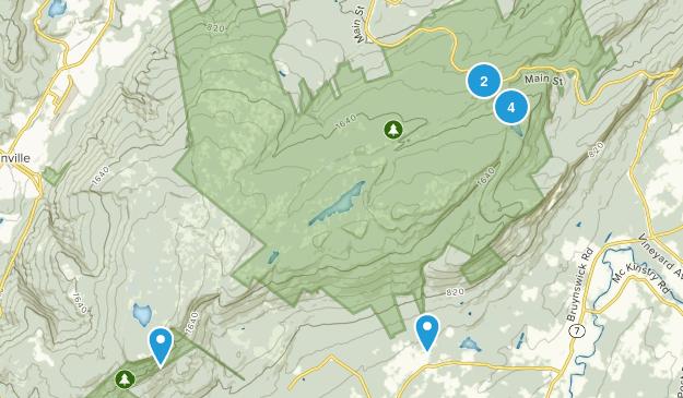 Minnewaska State Park Preserve Birding Map