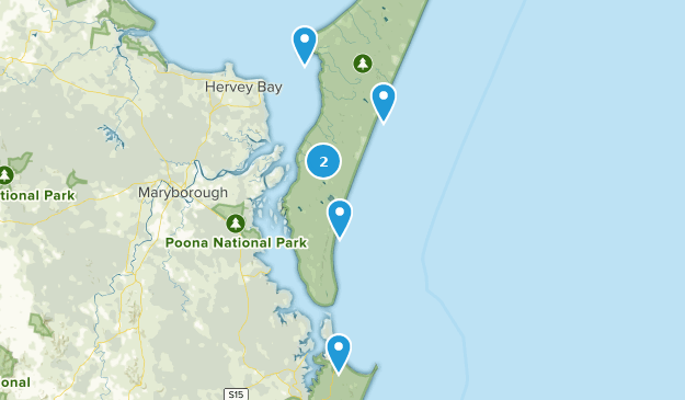 Great Sandy National Park Hiking Map