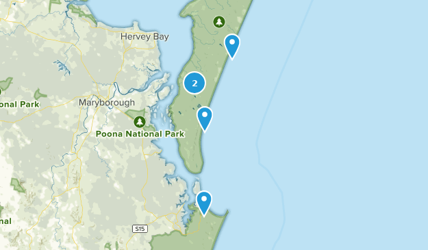 Great Sandy National Park Nature Trips Map