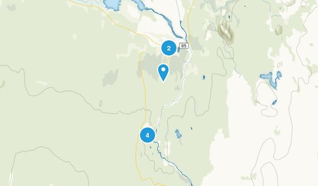 Jökulsárgljúfur Hiking Map