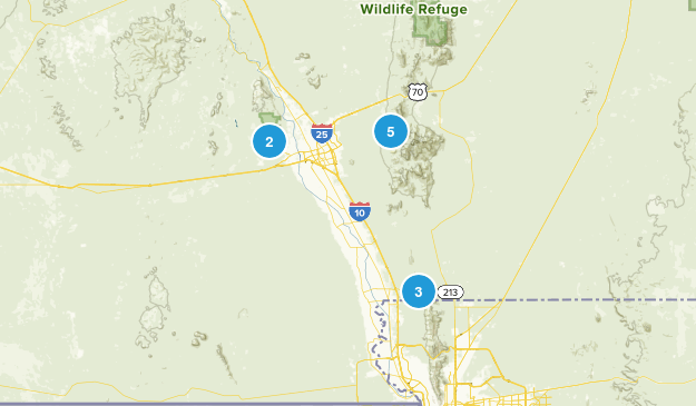 Organ Mountain - Desert Peaks National Monument Wildlife Map