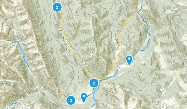 Little Elbow Provincial Recreation Area Wild Flowers Map