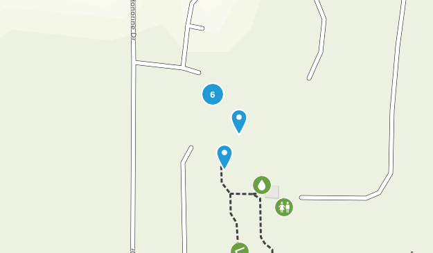 Reinstein Woods Nature Preserve and Environmental Education Center Hiking Map