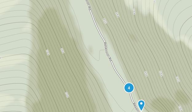 Zindel Park Hiking Map