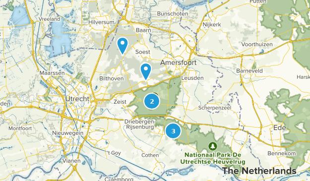 Utrechtse Heuvelrug Hiking Map