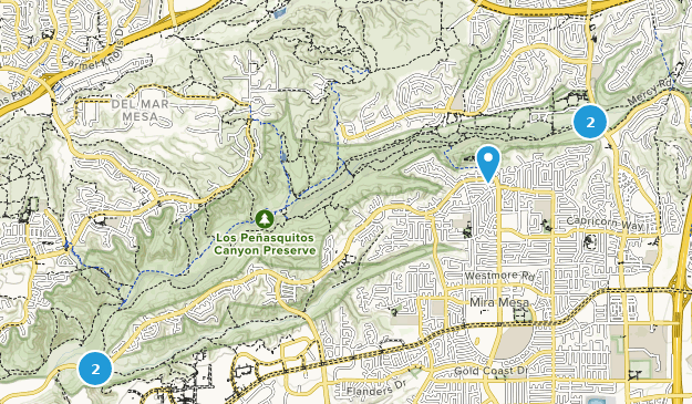 Los Penasquitos Canyon Preserve Bird Watching Map