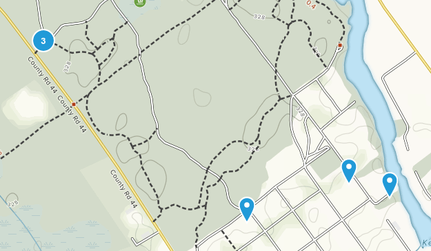 Ferguson Forest Centre Birding Map