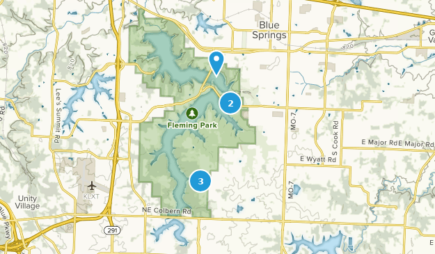 Fleming Park Nature Trips Map