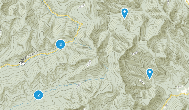 Slide Mountain Wilderness Hiking Map