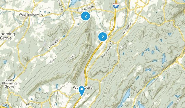 Schunnemunk State Park Hiking Map