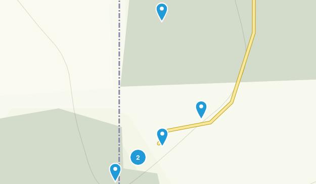 Zone de loisirs de Thunderhill Hiking Map