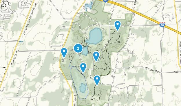 Mendon Ponds County Park Wildlife Map