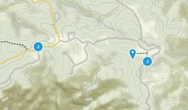 Royal Gorge Park  Hiking Map