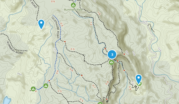 Whian Whian State Conservation Area Hiking Map