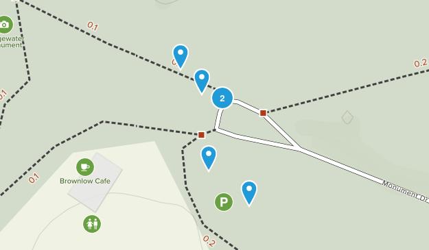Aldbury Commons Hiking Map