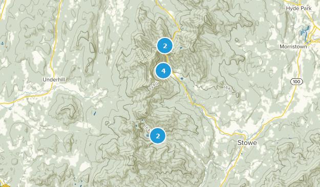 Mount Mansfield State Forest Birding Map