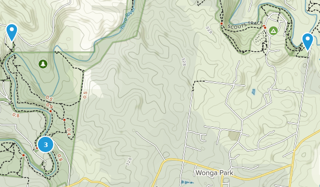 Warrandyte State Park Hiking Map