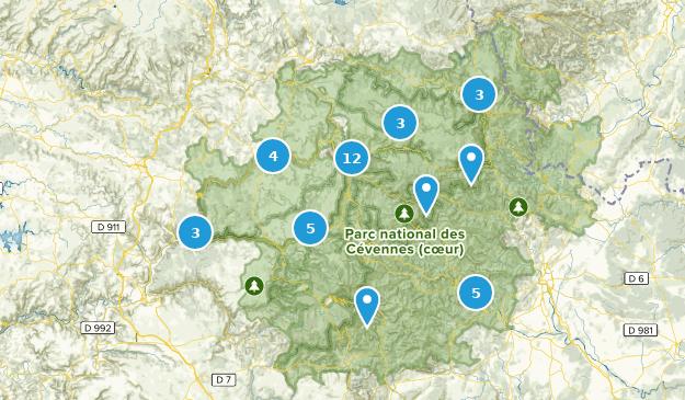 Cevennen Karte.Die Besten Wanderwege In Cévennes National Park Alltrails