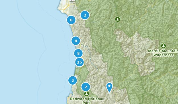 Wege mit der besten Aussicht in Redwood National Park ...